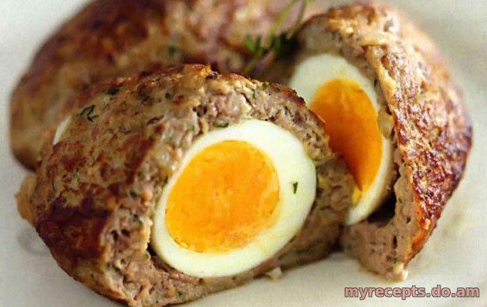 Зразы с яйцом фаршем рецепт фото