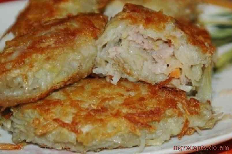 Рецепт картофеля с фаршем пошаговый рецепт с