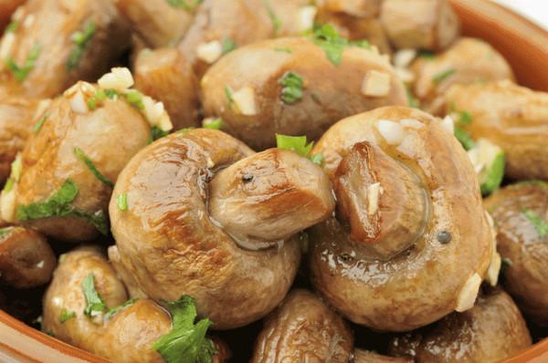 Грибы в духовкеы с фото простые и вкусные