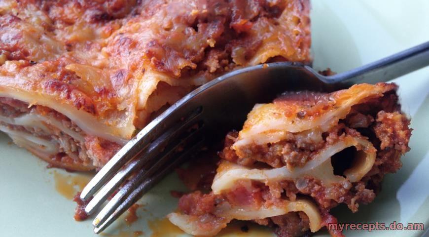 Лазанья мясная пошаговый рецепт с в домашних условиях